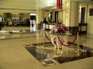 ホテルや旅館などでのアロマ(香り)